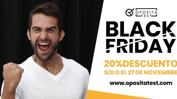 Imagen para Black Friday OpositaTest, plataforma de práctica de test para oposiciones